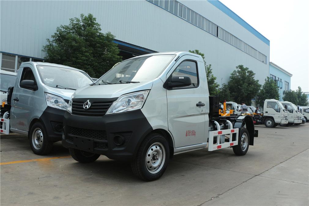 (2-3方)长安车厢可卸式垃圾车-(2-3方)长安车厢可卸式垃圾车 程力威CLW5021ZXXS5车