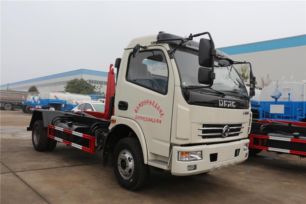 (8方)东风大多利卡车厢可卸式垃圾车-东风大多利卡(8方)车厢可卸式垃圾车 程力威CLW5080ZXXD5车厢可卸式垃圾车