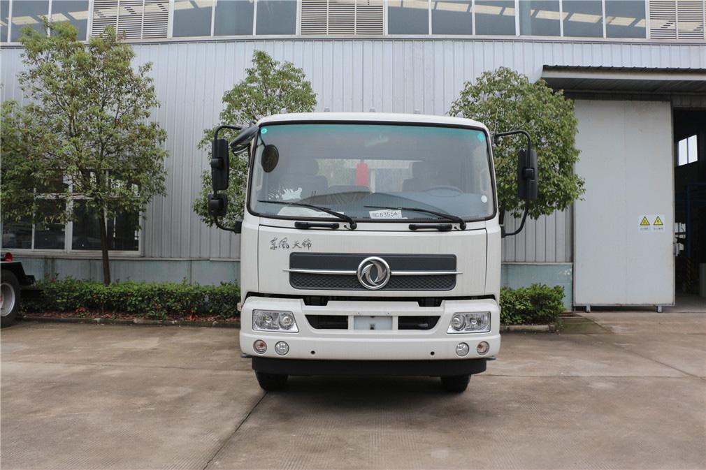 东风天锦(12方)车厢可卸式垃圾车 程力威CLW5161ZXXD5车厢可卸式垃圾车