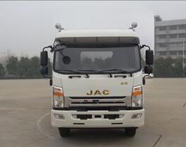 华通牌HCQ5161TPBHF5型平板运输车