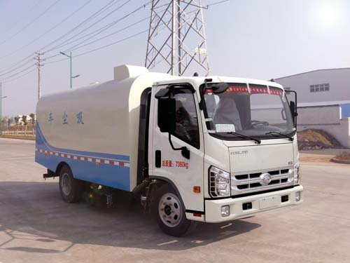 华通牌HCQ5075TXCB5型吸尘车-华通牌HCQ5075TXCB5型吸尘车