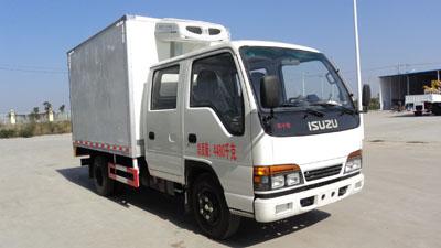 庆铃双排100P3.15米冷藏车