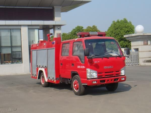 庆铃3360双排座水罐消防车-庆铃3360双排座水罐消防车