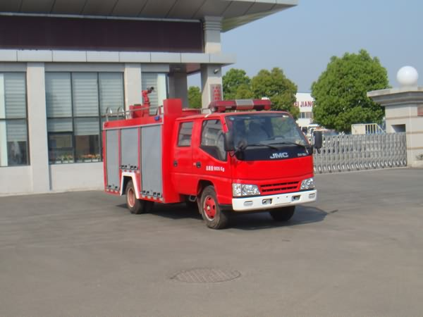 江铃双排座水罐消防车-江铃双排座水罐消防车