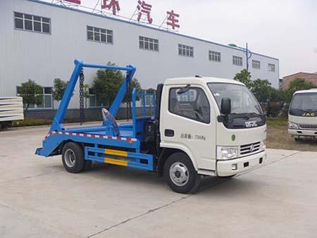 华通牌HCQ5075ZBSE5型摆臂式垃圾车-华通牌HCQ5075ZBSE5型摆臂式垃圾车