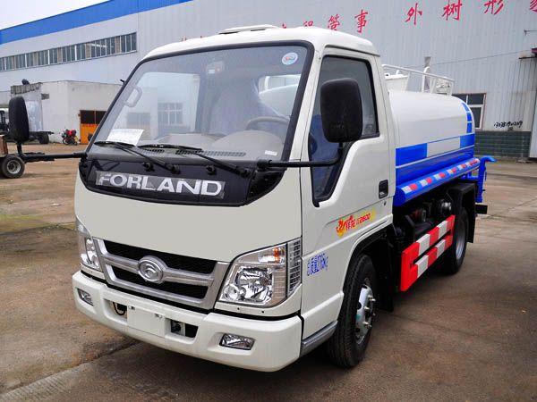 国六福田小型3吨洒水车-国六福田小型3吨洒水车