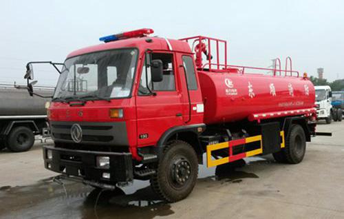 东风153/13吨消防洒水车-东风153/13吨消防洒水车